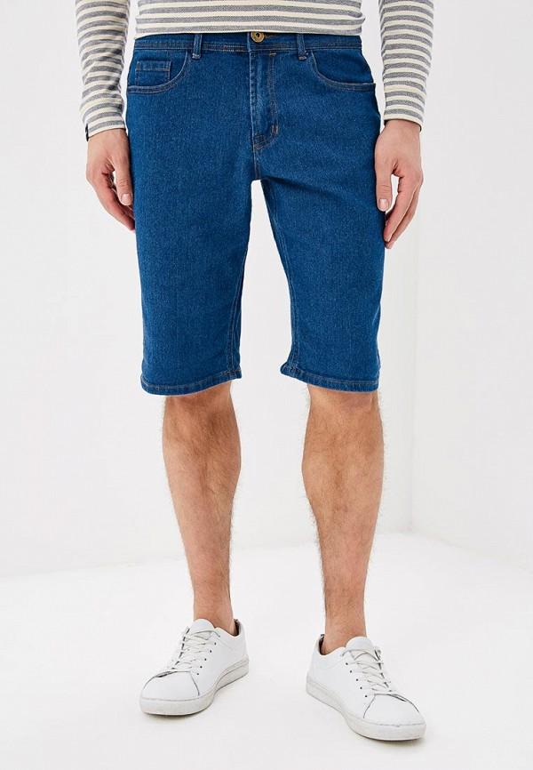 мужские повседневные шорты modis, синие