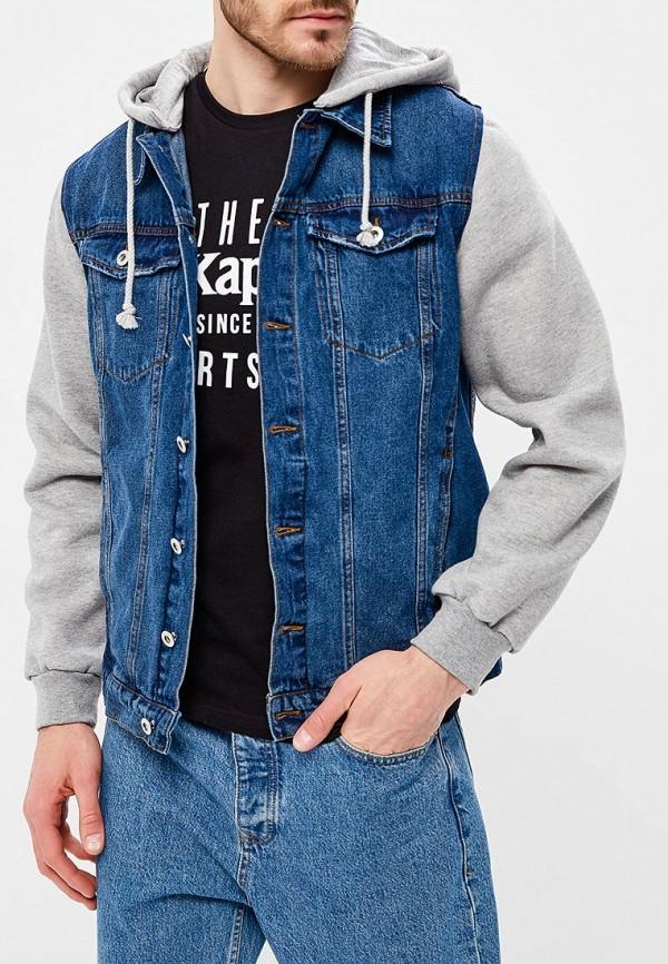 Купить Куртка джинсовая Modis, mo044emaxyl4, синий, Весна-лето 2018