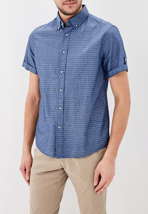Купить Рубашка Modis, MO044EMAXYM6, синий, Весна-лето 2018