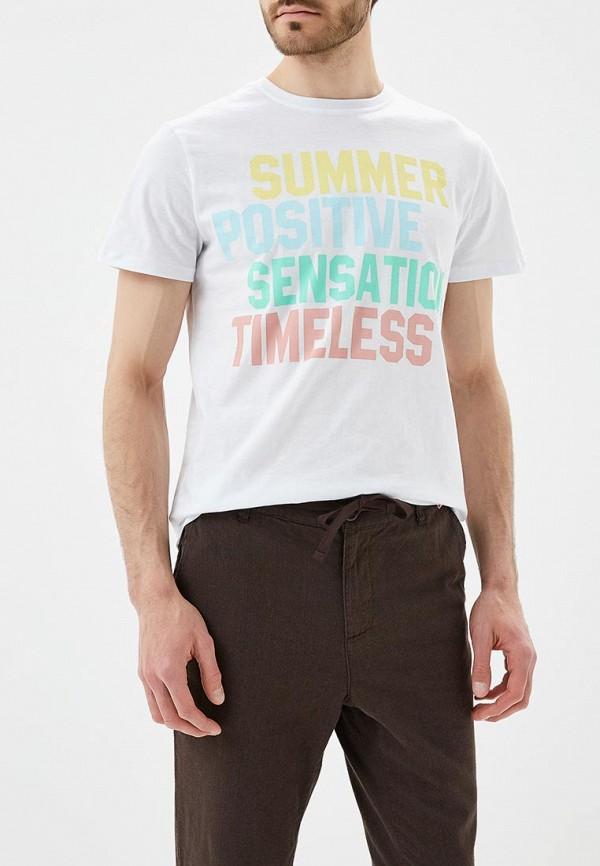 Купить Футболка Modis, MO044EMBEBE0, белый, Весна-лето 2018