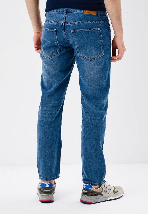 Фото 3 - мужские джинсы Modis голубого цвета