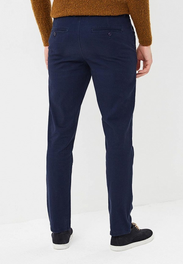 Фото 3 - мужские брюки Modis синего цвета