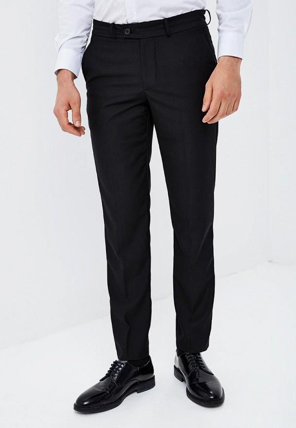 мужские прямые брюки modis, черные