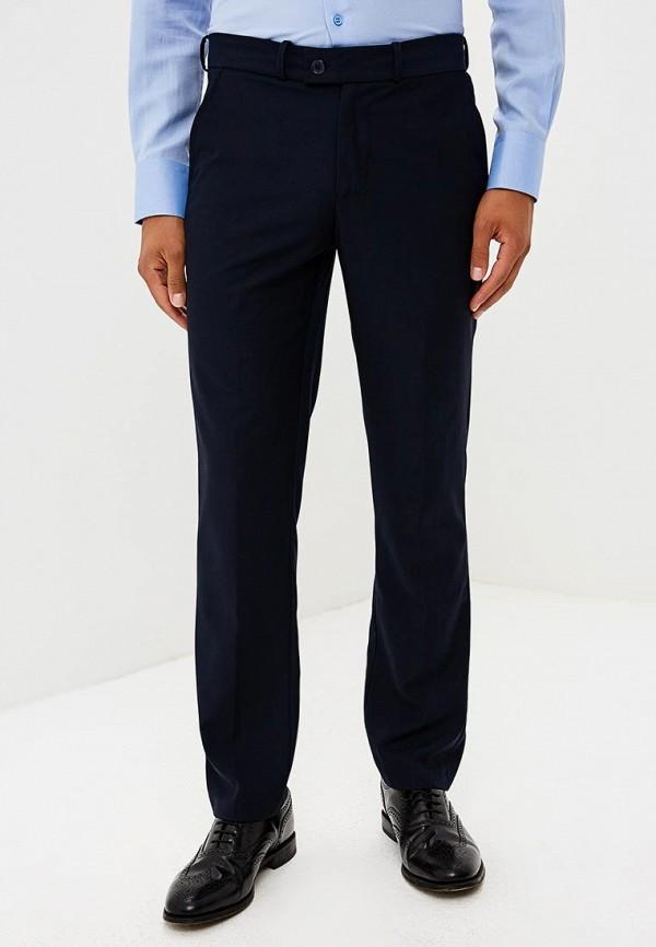 мужские зауженные брюки modis, синие