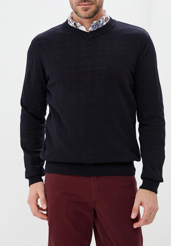 мужской пуловер modis, черный