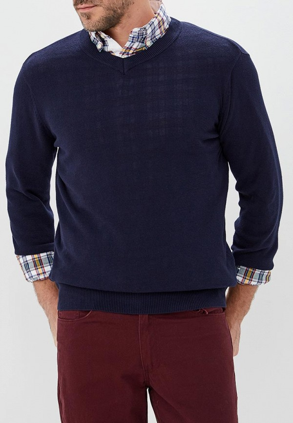 мужской пуловер modis, синий