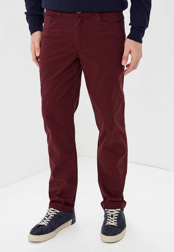 мужские повседневные брюки modis, бордовые