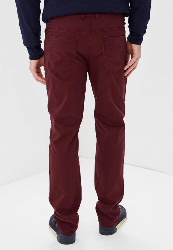 Фото 3 - мужские брюки Modis бордового цвета