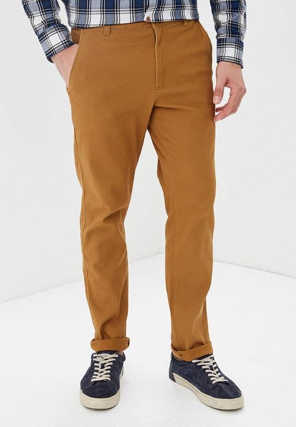 мужские брюки чинос modis, коричневые