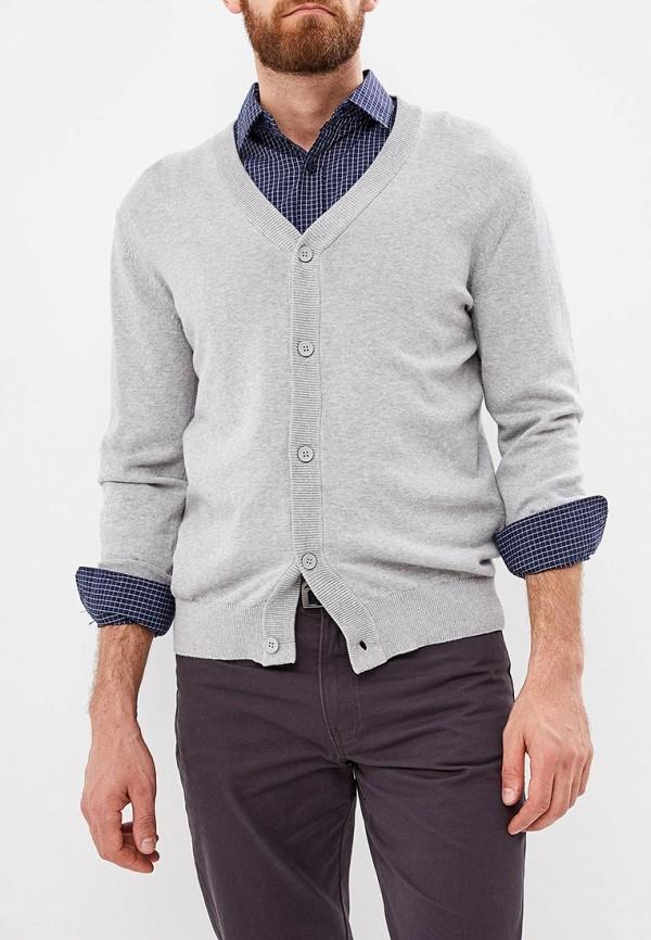 мужской кардиган modis, серый