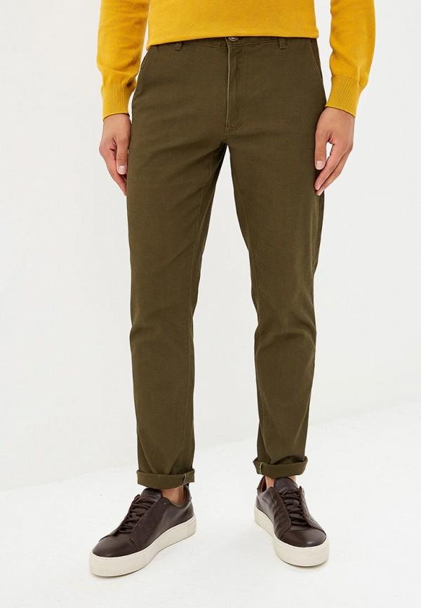мужские зауженные брюки modis, хаки