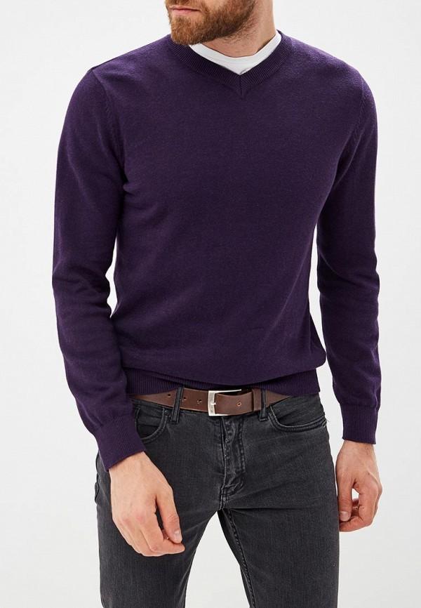 мужской пуловер modis, фиолетовый