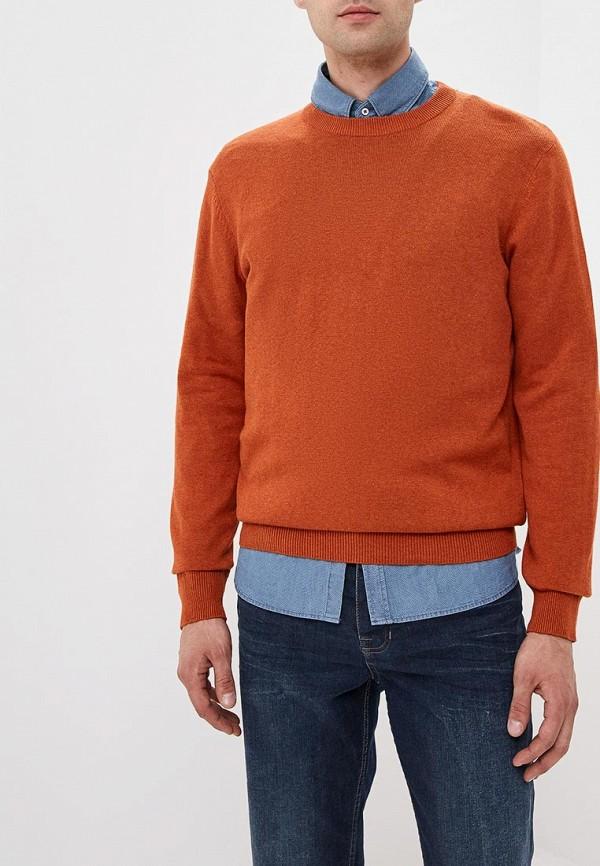 мужской джемпер modis, оранжевый