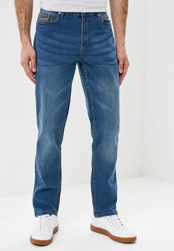 мужские зауженные джинсы modis, синие