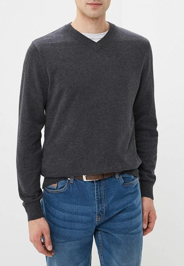 мужской пуловер modis, серый