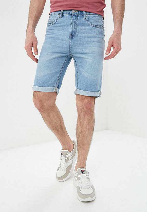 мужские джинсовые шорты modis, голубые