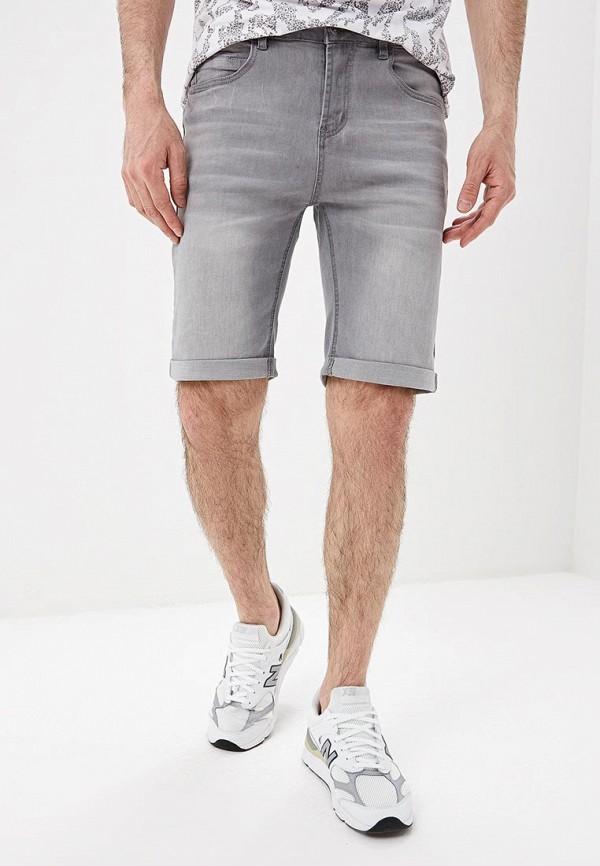 мужские джинсовые шорты modis, серые
