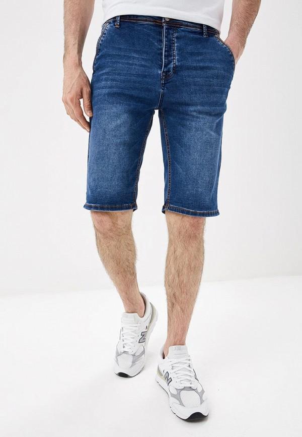 мужские джинсовые шорты modis, синие