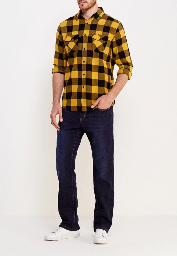 Фото 2 - мужские джинсы Modis синего цвета