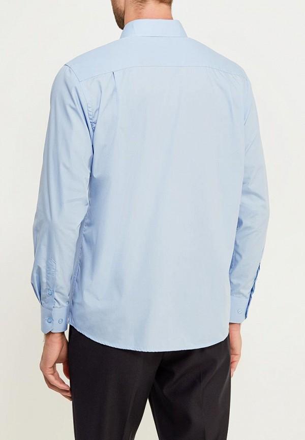 Фото 3 - женскую рубашку Modis голубого цвета