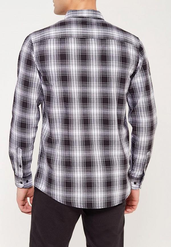 Фото 3 - мужскую рубашку Modis серого цвета