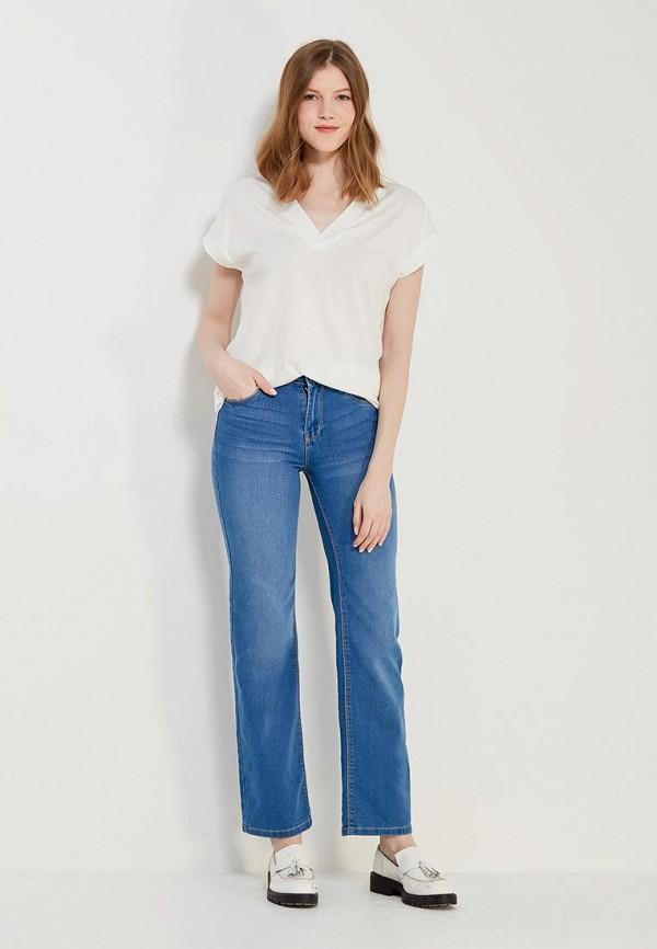 Фото 5 - женские джинсы Modis синего цвета
