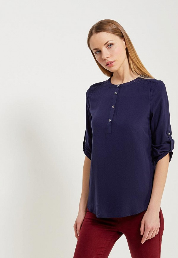 Купить Рубашка Modis, MO044EWAIMK0, синий, Весна-лето 2018