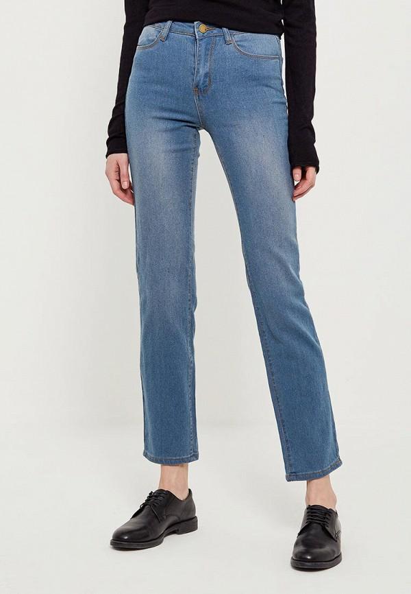 женские прямые джинсы modis, голубые