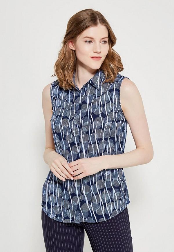 женская блузка modis, синяя