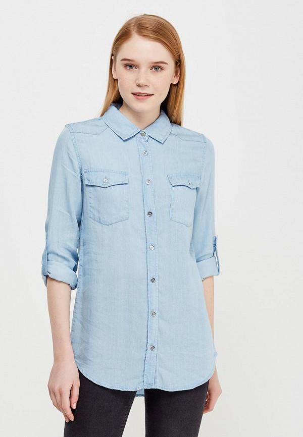 Купить Рубашка Modis, MO044EWAPVO1, голубой, Весна-лето 2018