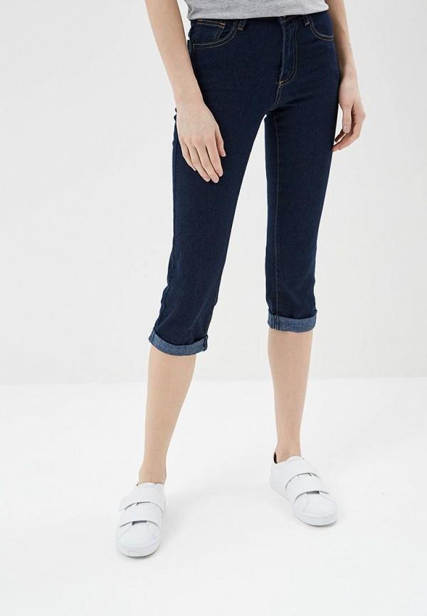 женские прямые джинсы modis, синие