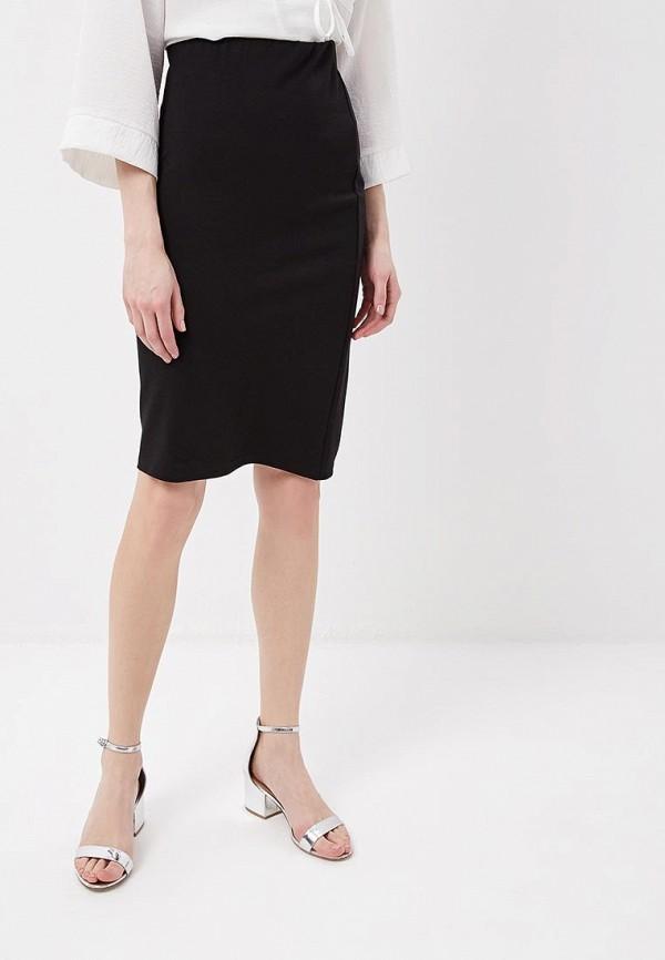 женская прямые юбка modis, черная