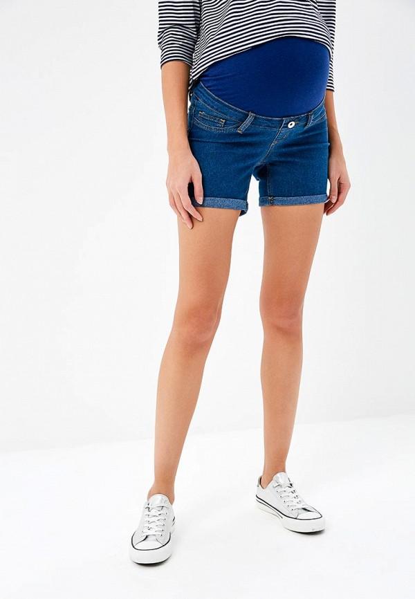 женские джинсовые шорты modis, синие