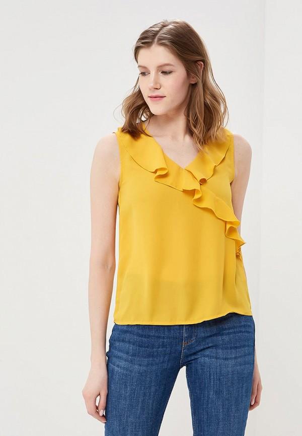 женский топ modis, желтый