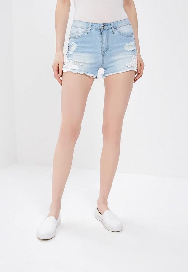 Шорты джинсовые Modis Modis MO044EWBEBG3 шорты джинсовые modis modis mo044embebd0