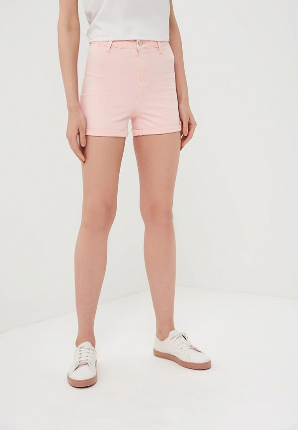 женские повседневные шорты modis, розовые