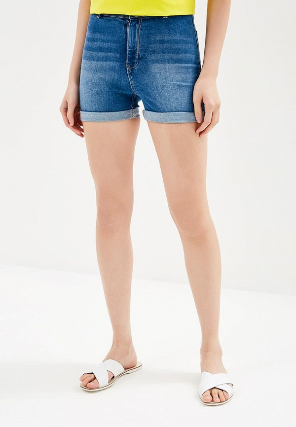 женские шорты modis, голубые