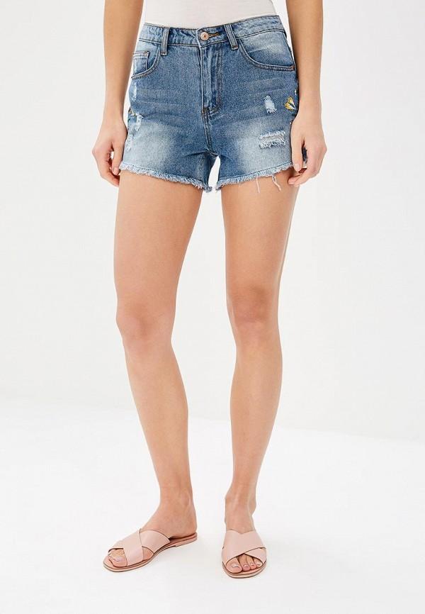 Шорты джинсовые Modis Modis MO044EWBKID1 шорты джинсовые modis modis mo044ebbasf5