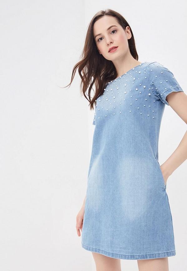 Платье джинсовое Modis Modis MO044EWBKID9 кольцо modis modis mo044dwcmfx1