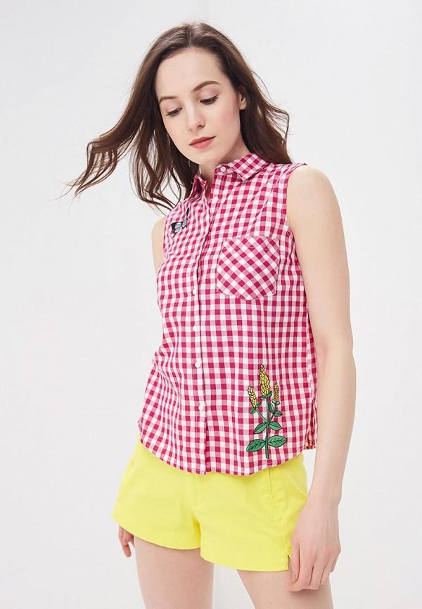 женская блузка modis, розовая