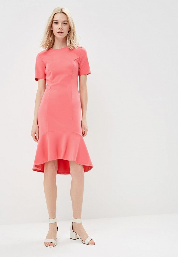 Фото 2 - женское платье Modis розового цвета