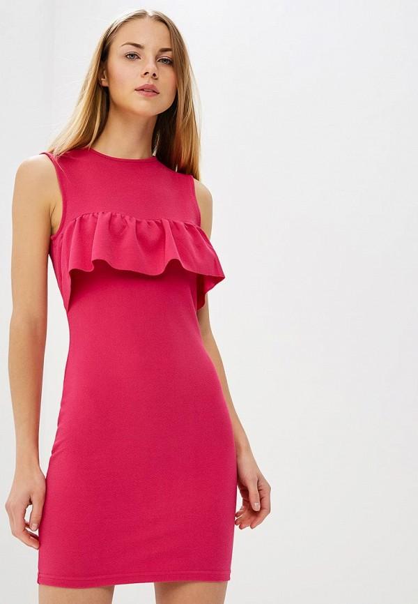 женское платье-футляр modis, розовое