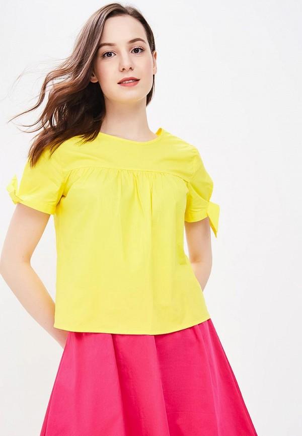 женская блузка modis, желтая