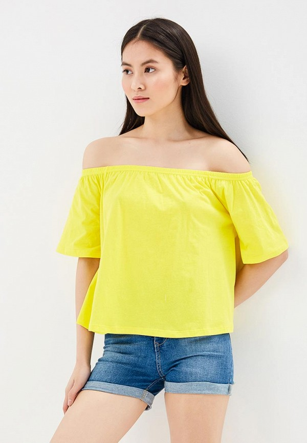 Блуза Modis Modis MO044EWBKIJ6 жен блуза арт 16 0118 желтый р 52