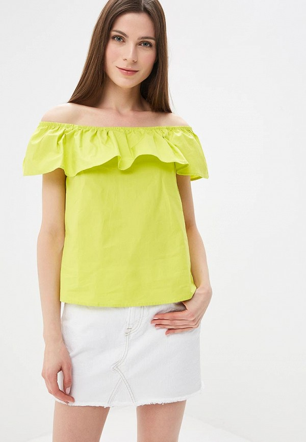 женская блузка modis, зеленая