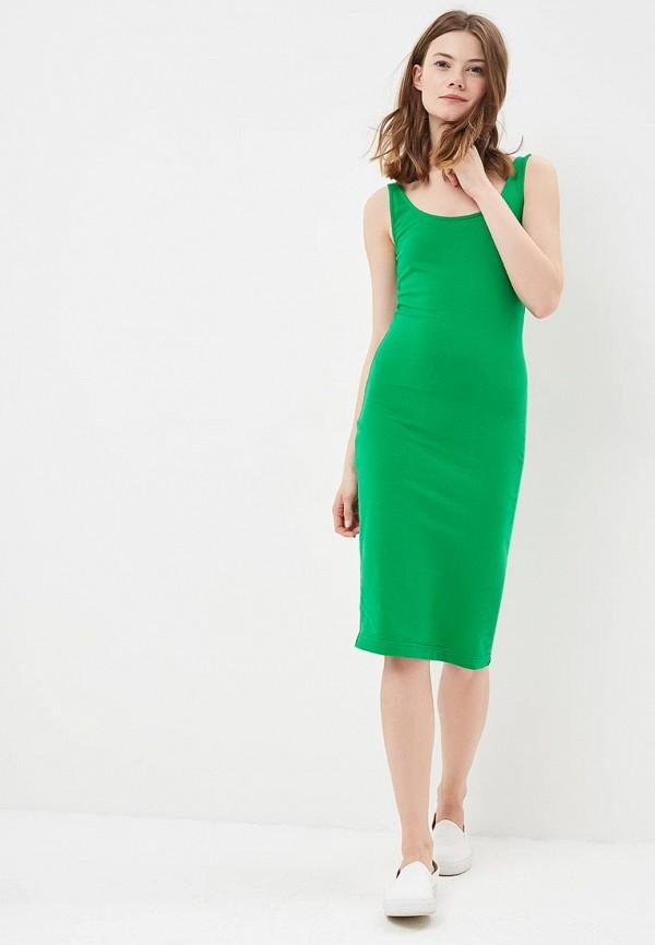 Фото 2 - женское платье Modis зеленого цвета
