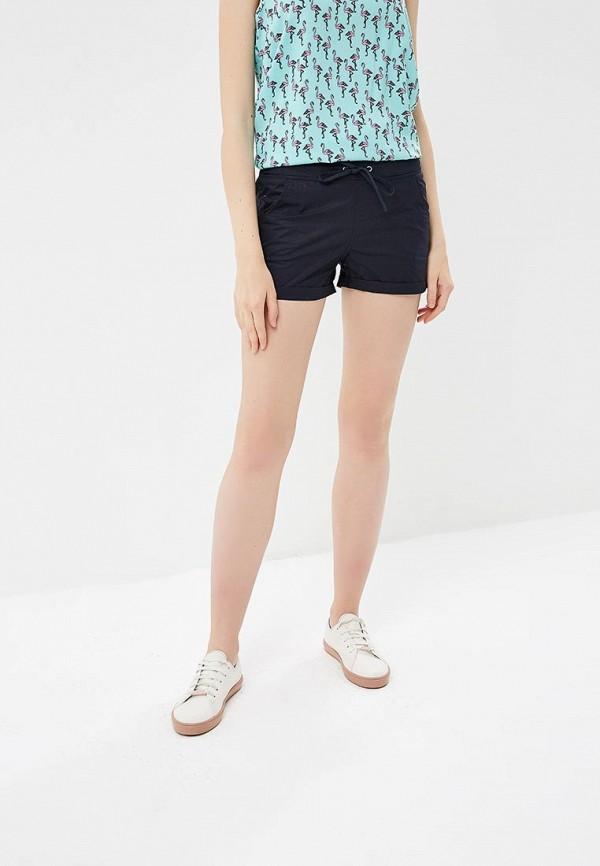 женские повседневные шорты modis, синие