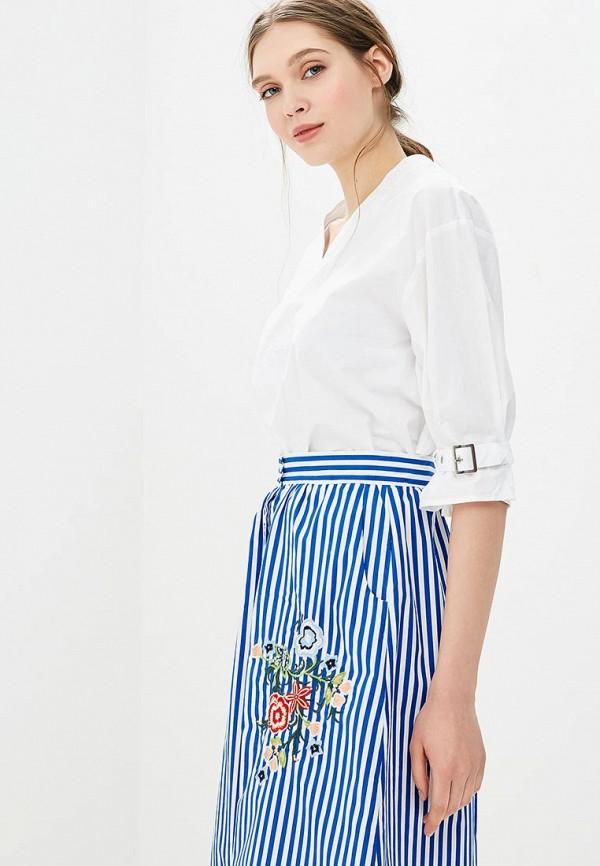 Купить Блуза Modis, mo044ewbnwg9, белый, Весна-лето 2018