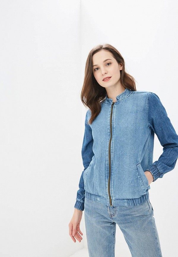 Куртка джинсовая Modis Modis MO044EWBQFJ1