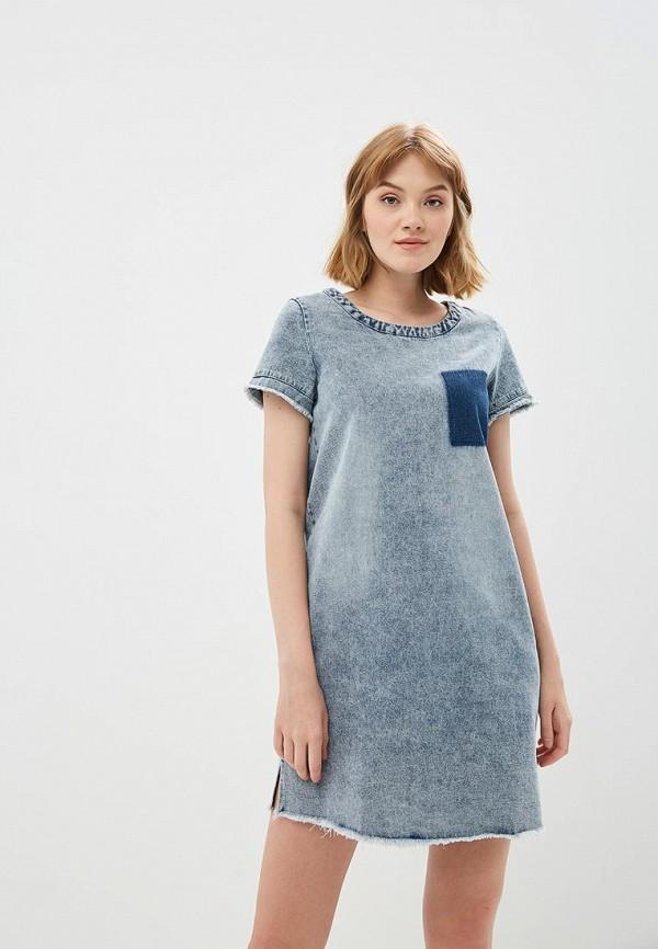Купить Платье Modis, mo044ewbryv8, синий, Весна-лето 2018
